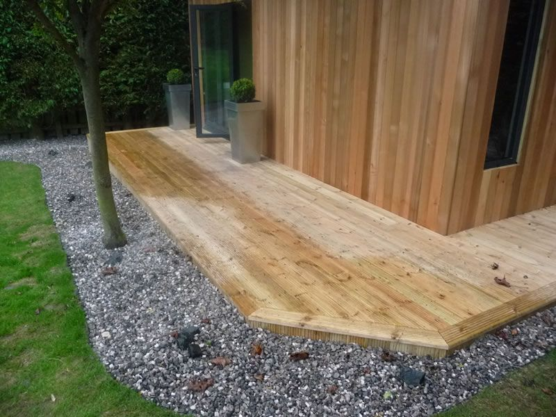 Advantages shaped timber